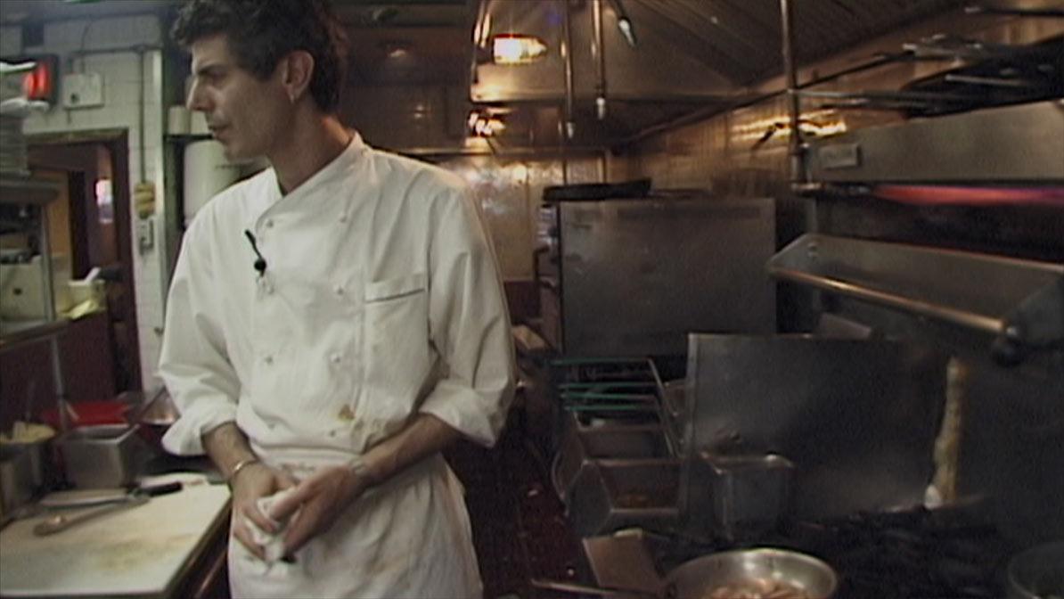 Anthony Bourdain in 'Roadrunner'
