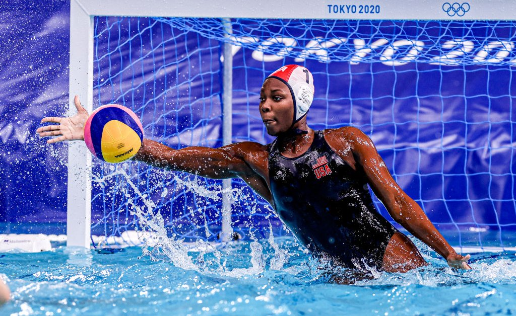 'I Choose to Do More.' Olympian Ashleigh Johnson Embraces Her Role As Water Polo Pioneer