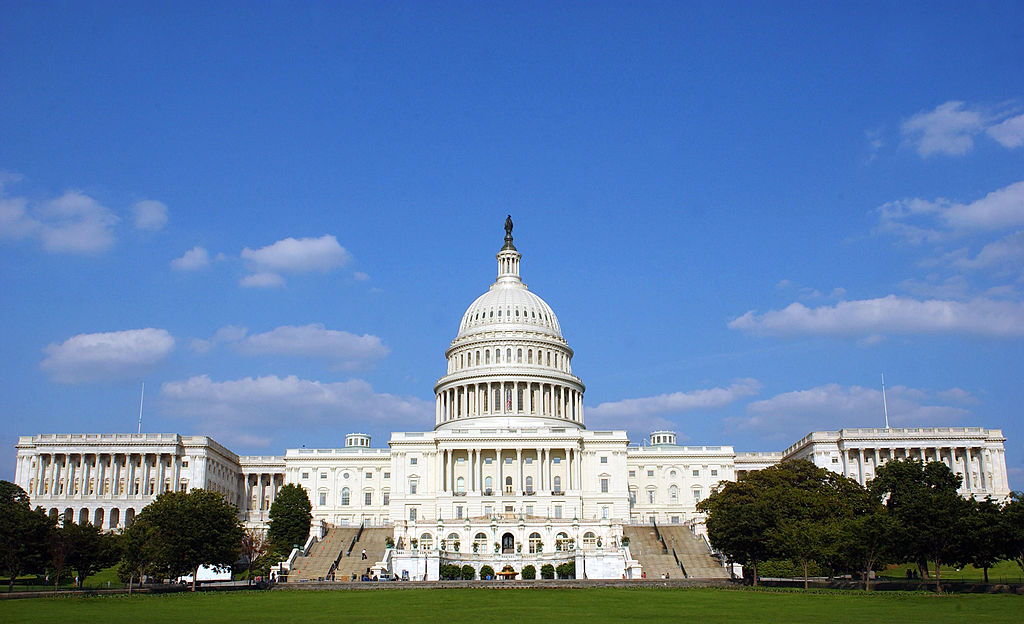 The U.S. Capitol is shown June 5, 2003 in Washington, DC.