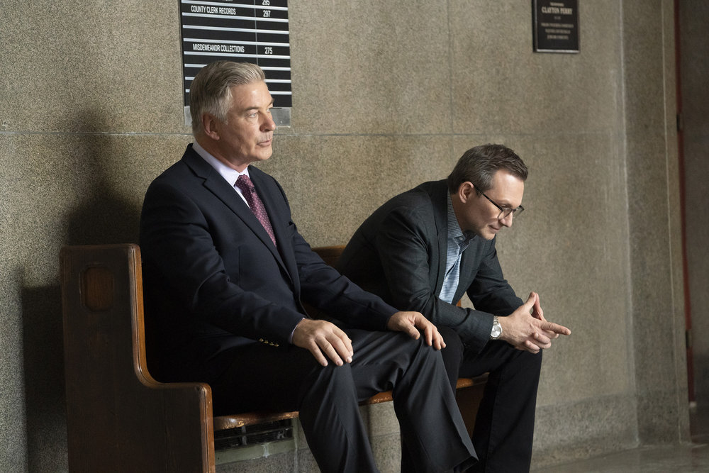 Alec Baldwin and Christian Slater in 'Dr. Death'