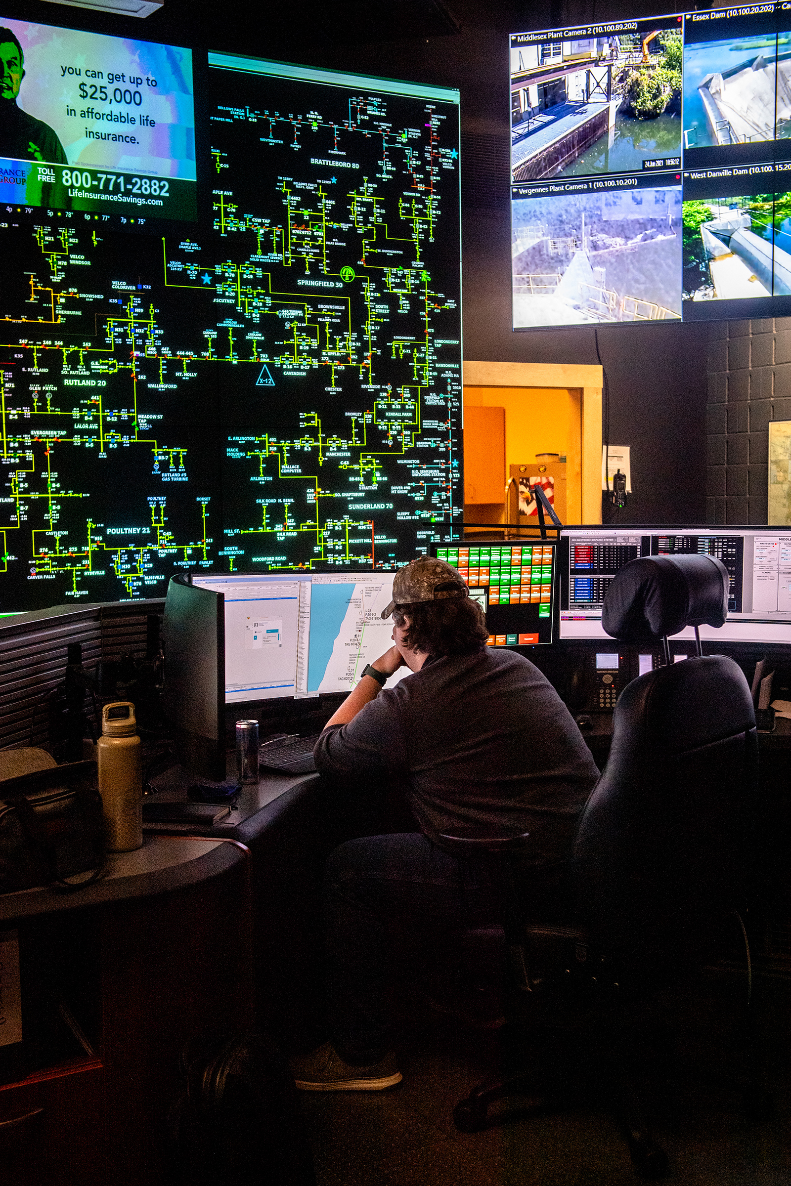 It's basically like a puzzle,  says one GMP control room veteran.  When a storm comes through, the puzzle falls apart. You've got to put it back together, one piece at a time.