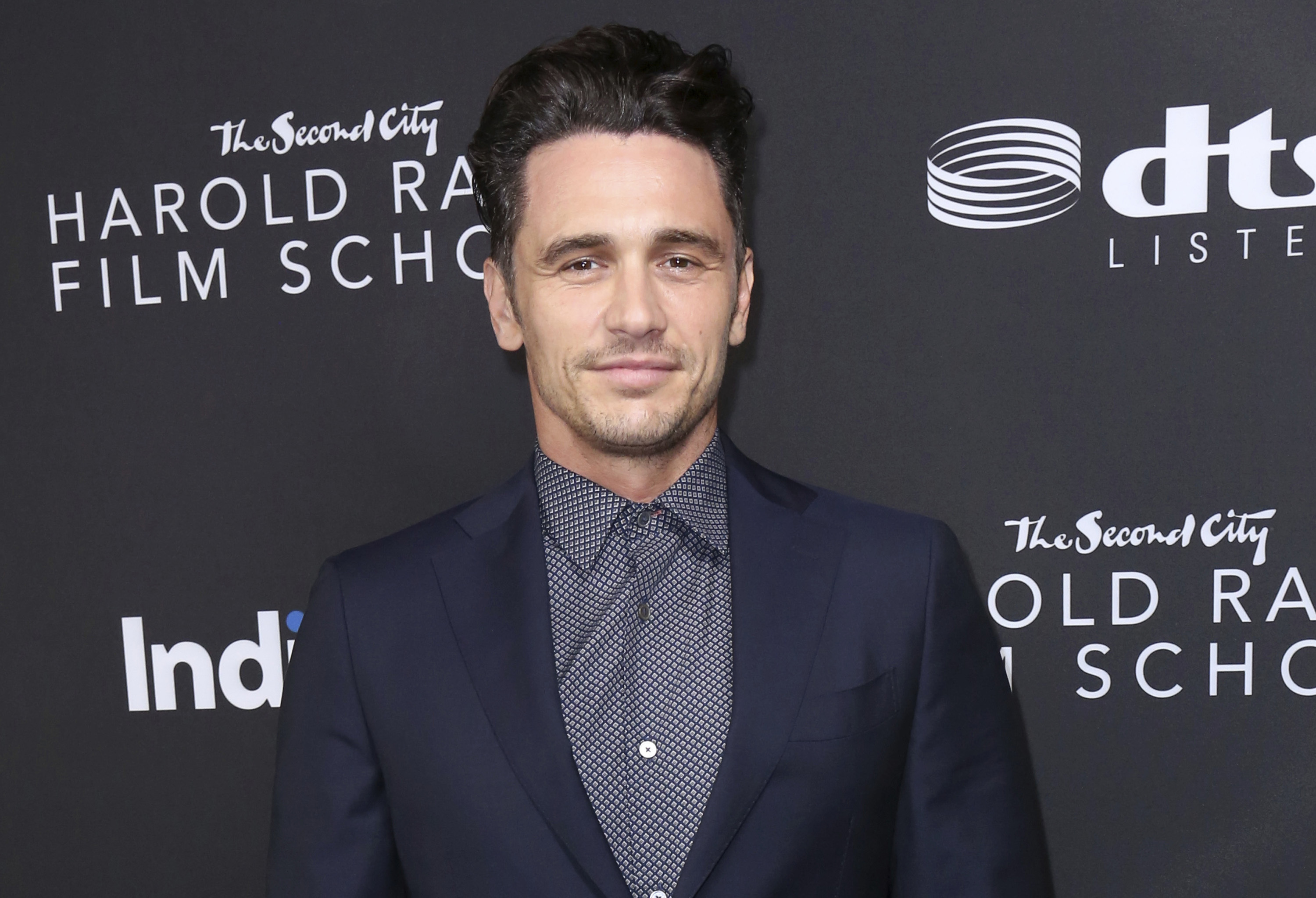James Franco arrives at IndieWire Honors on Nov. 2, 2017, in Los Angeles.