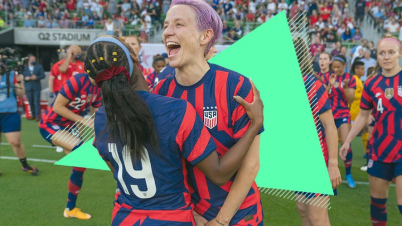 U.S. Olympics Star Megan Rapinoe Is Tired of Women Getting Paid Less. You Can Help Fight This Inequality, Too