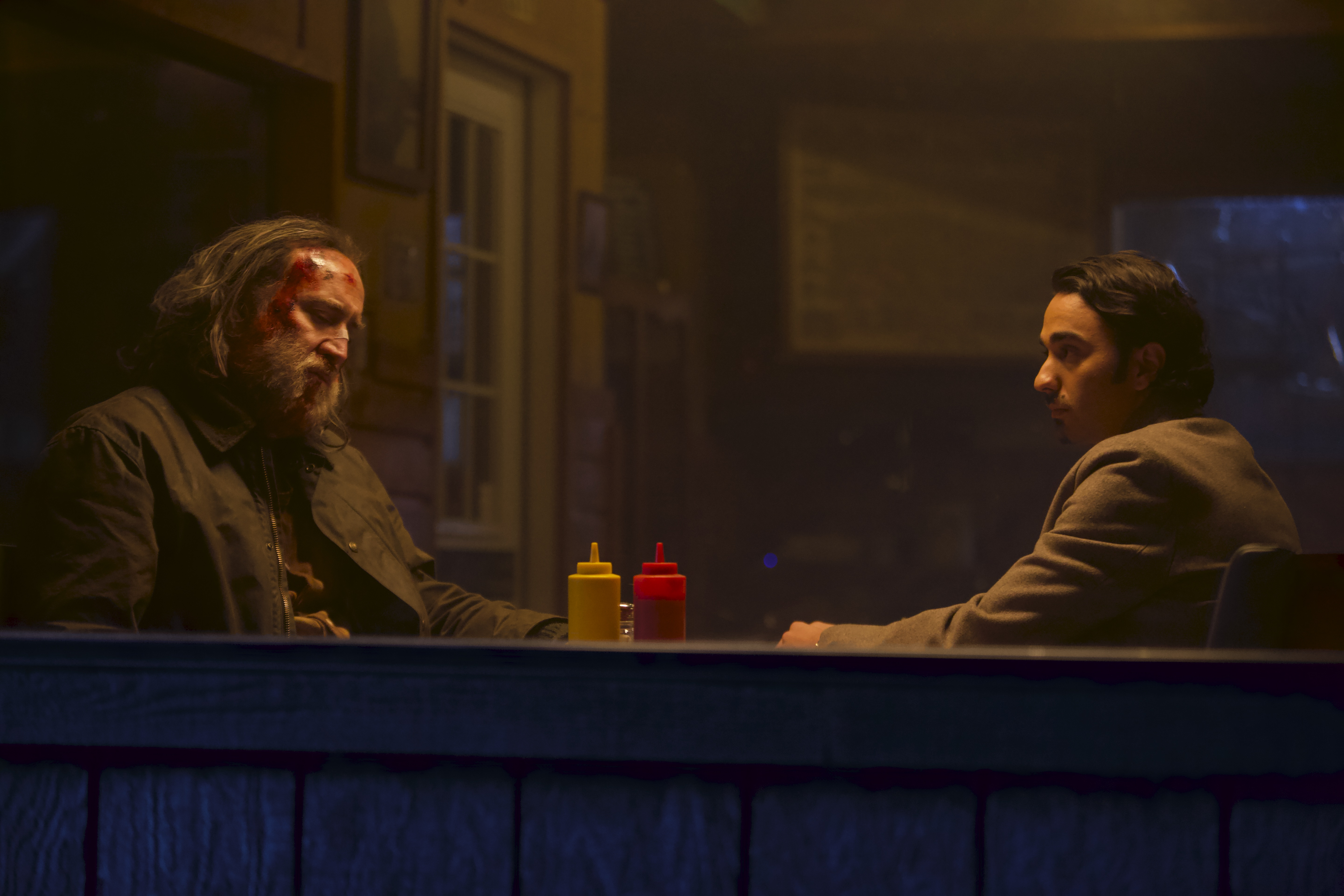 Nicolas Cage and Alex Wolff in 'Pig'