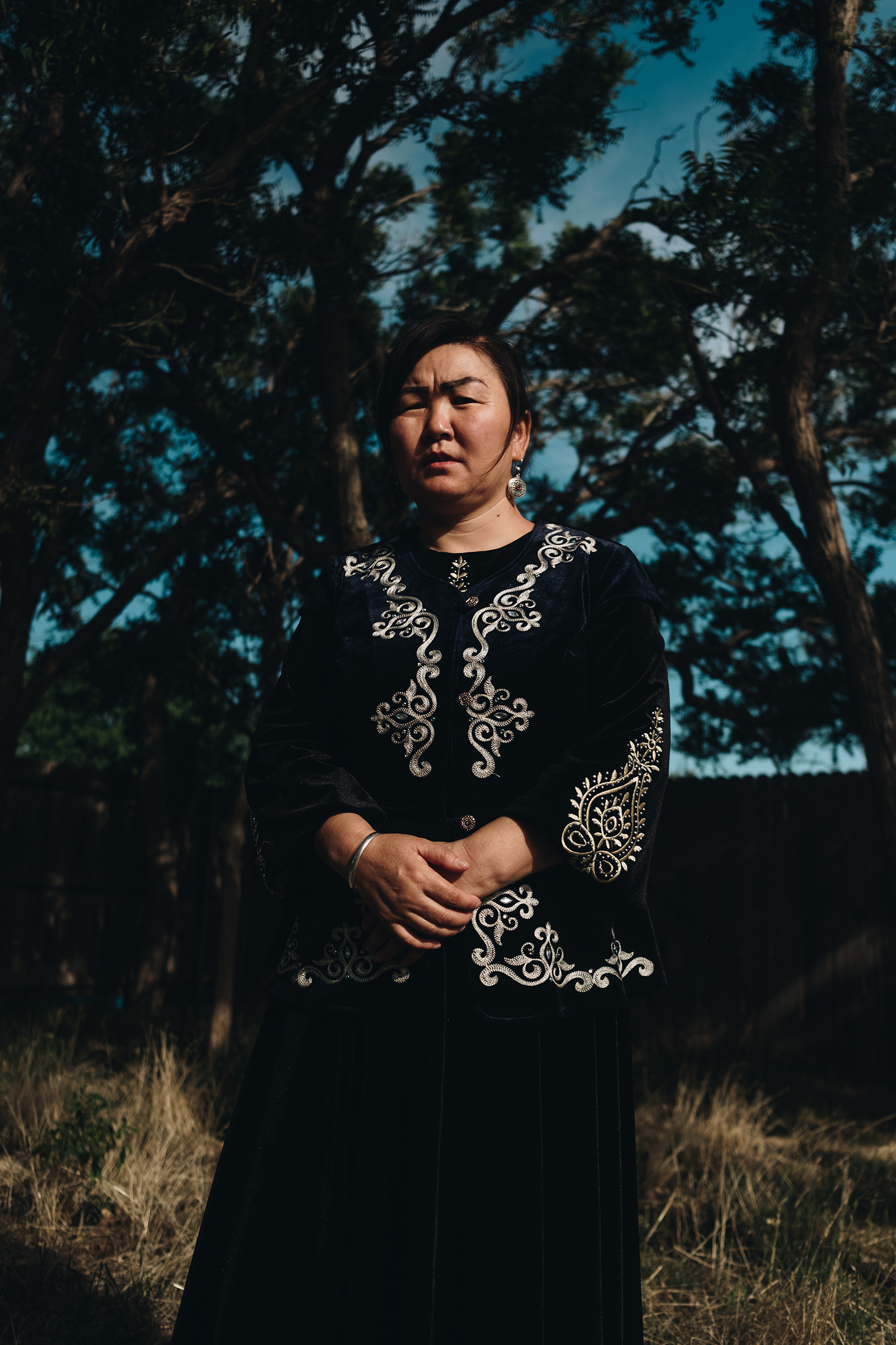 """Gulzira Auelkhan, a survivor of the notorious """"re-education centers"""" in Xinjiang, China"""