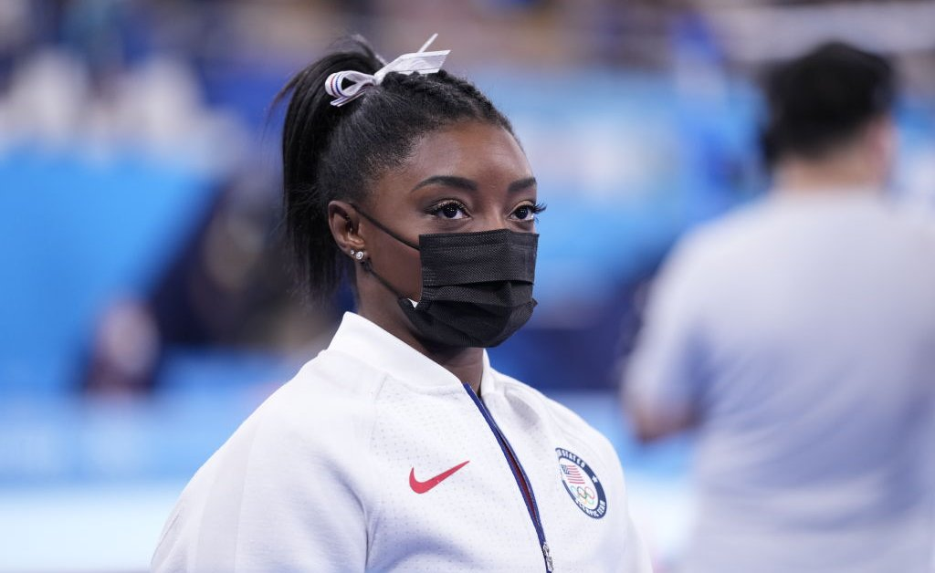 Simone Biles Pulls Out of Olympic Vault and Uneven Bars Finals