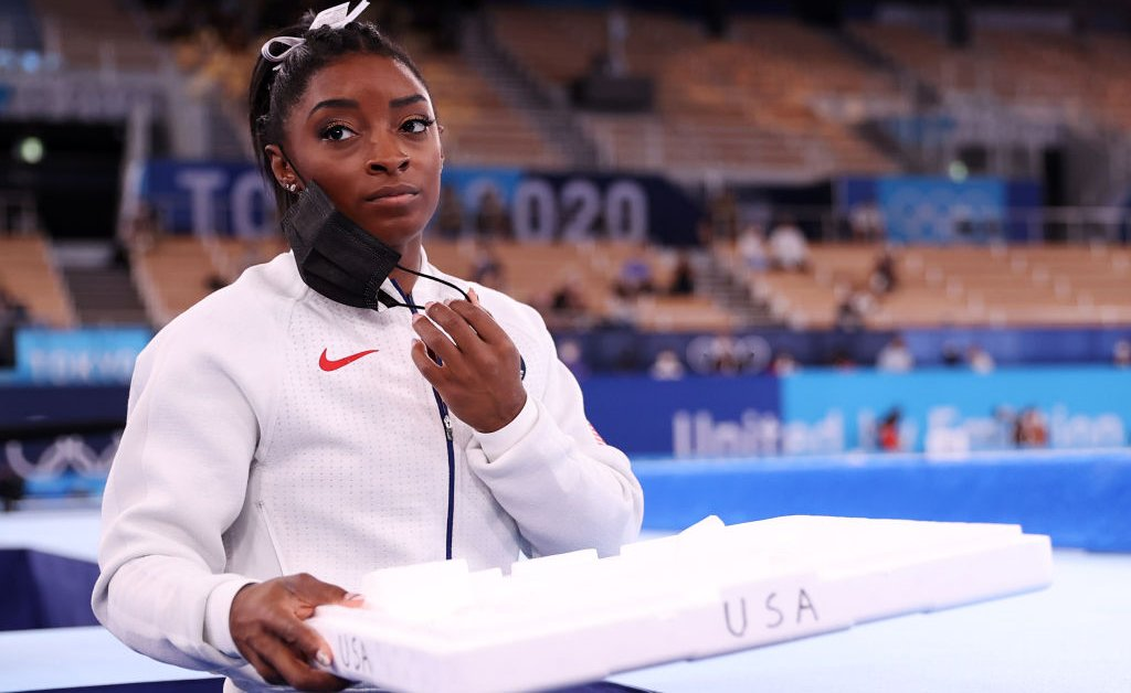 Simone Biles' Olympic Team Final Withdrawal Could Help Athletes Put Their Mental Health First