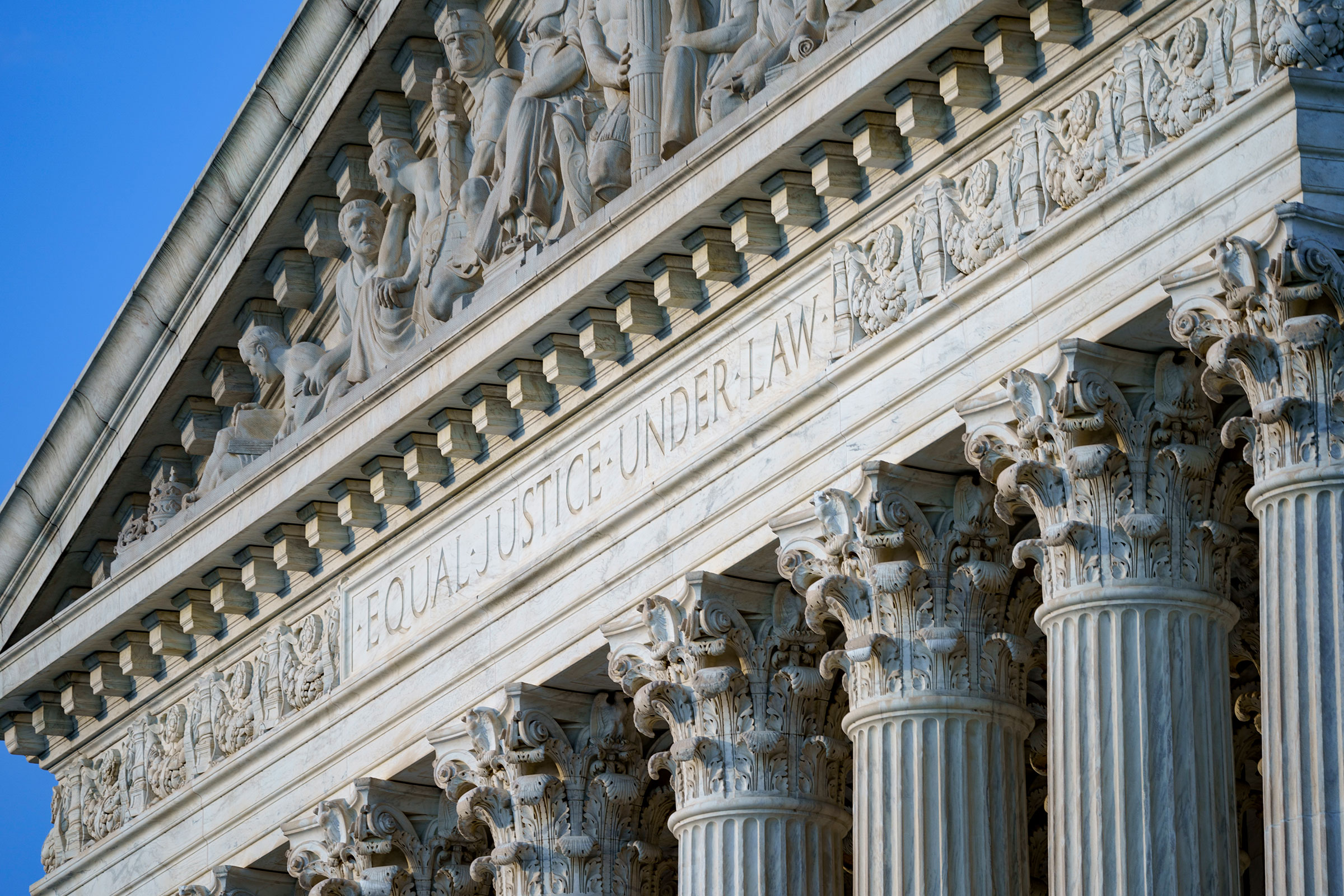 The Supreme Court is seen in Washington, June 30, 2021.