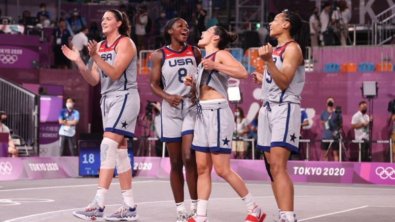 Team USA Wins First-Ever Women's 3x3 Basketball Gold