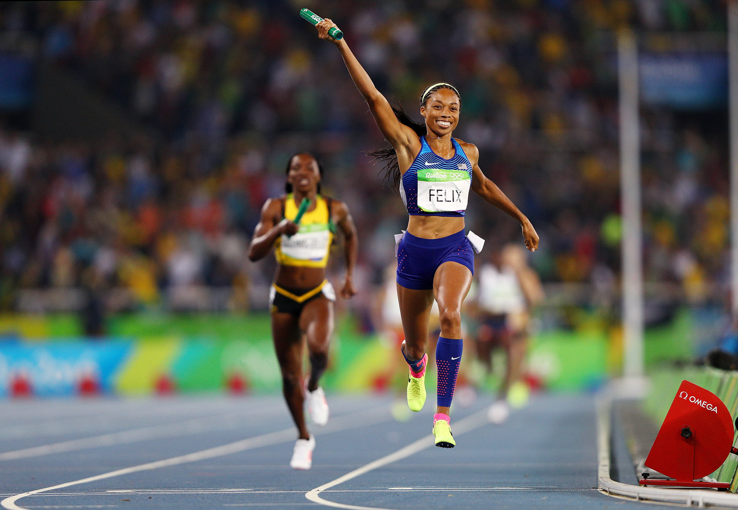 Felix won relay Gold in Rio but is chasing individual Gold in Tokyo