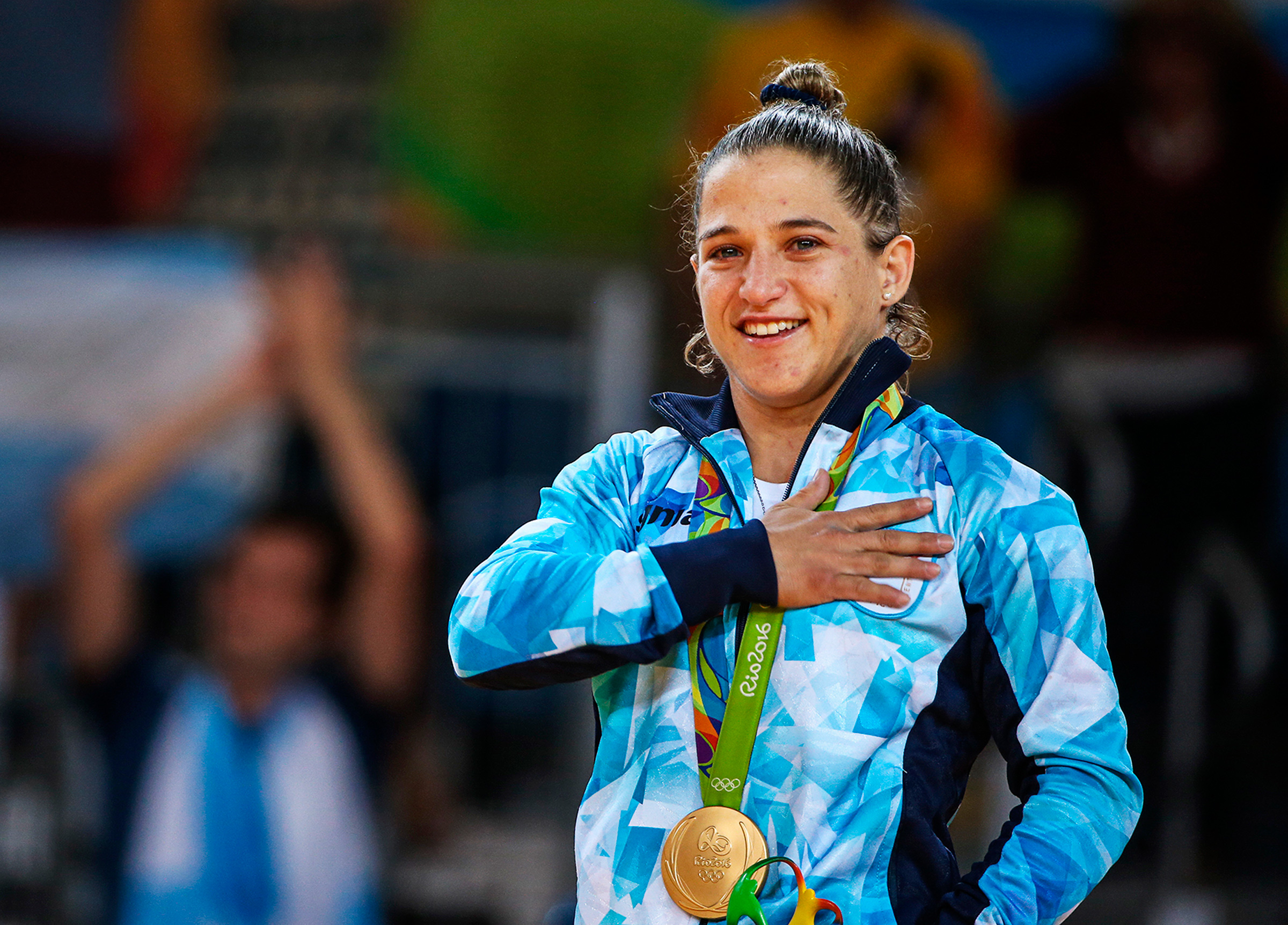 Pareto is ranked sixth in the under-48-kg class by the international Judo Federation