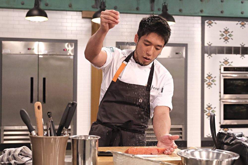 Shota Nakajima on Top Chef