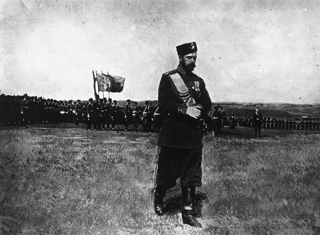 Nicholas II (1868 - 1918), the last Tsar of Russia, circa 1917.