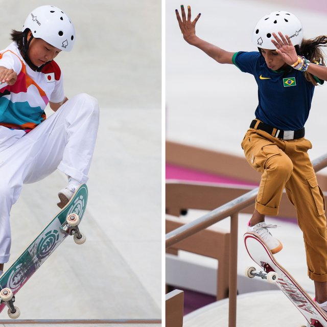 Tokyo's Newest Stars Are 2 13-Year-Old Skaters