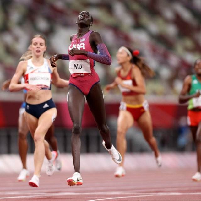 Athing Mu Wins Gold in 800 meters at Tokyo Olympics