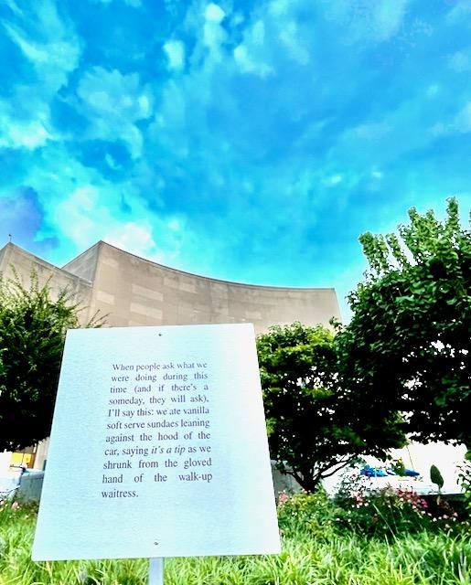 Brooklyn Public Library installation.