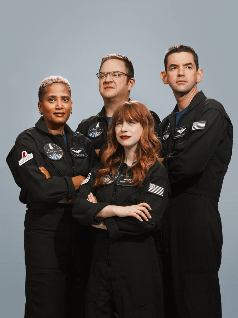 Meet the All Civilian Crew of Inspiration20   TIME