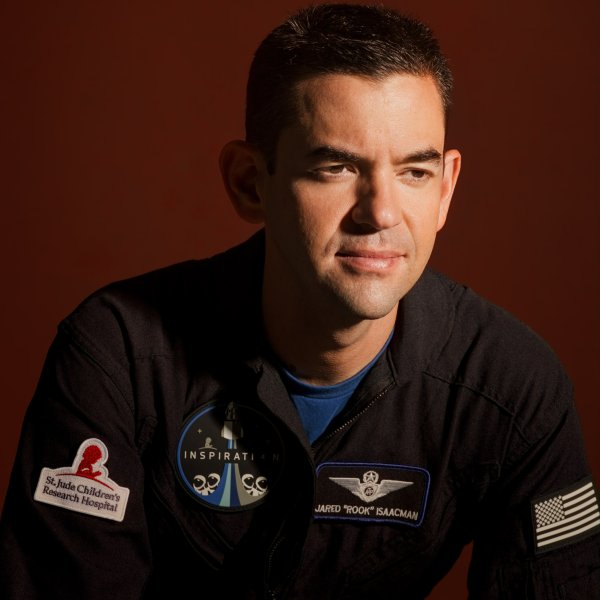 Jared Isaacman, commander of the Inspiration4 crew, the world's first all-civilian mission to orbit.