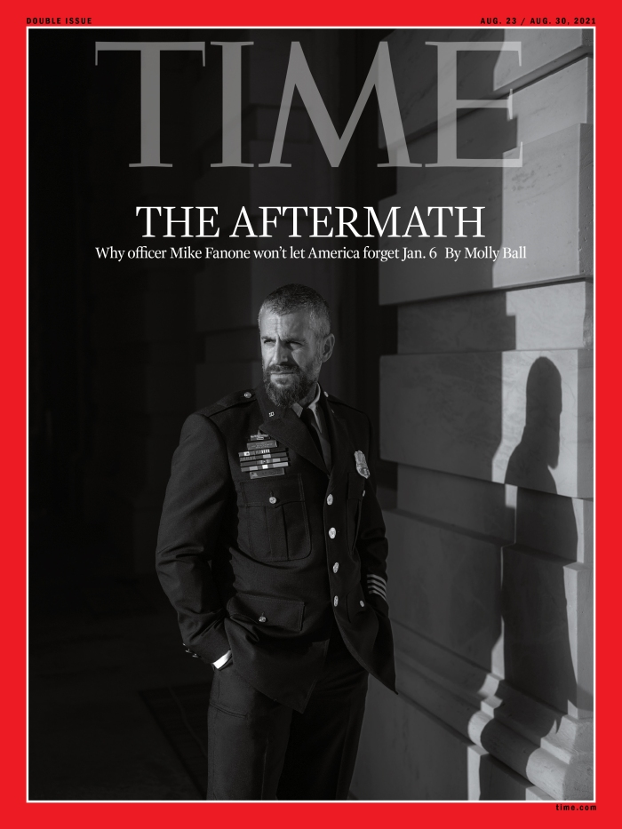Officer Mike Fanone Time Magazine Cover