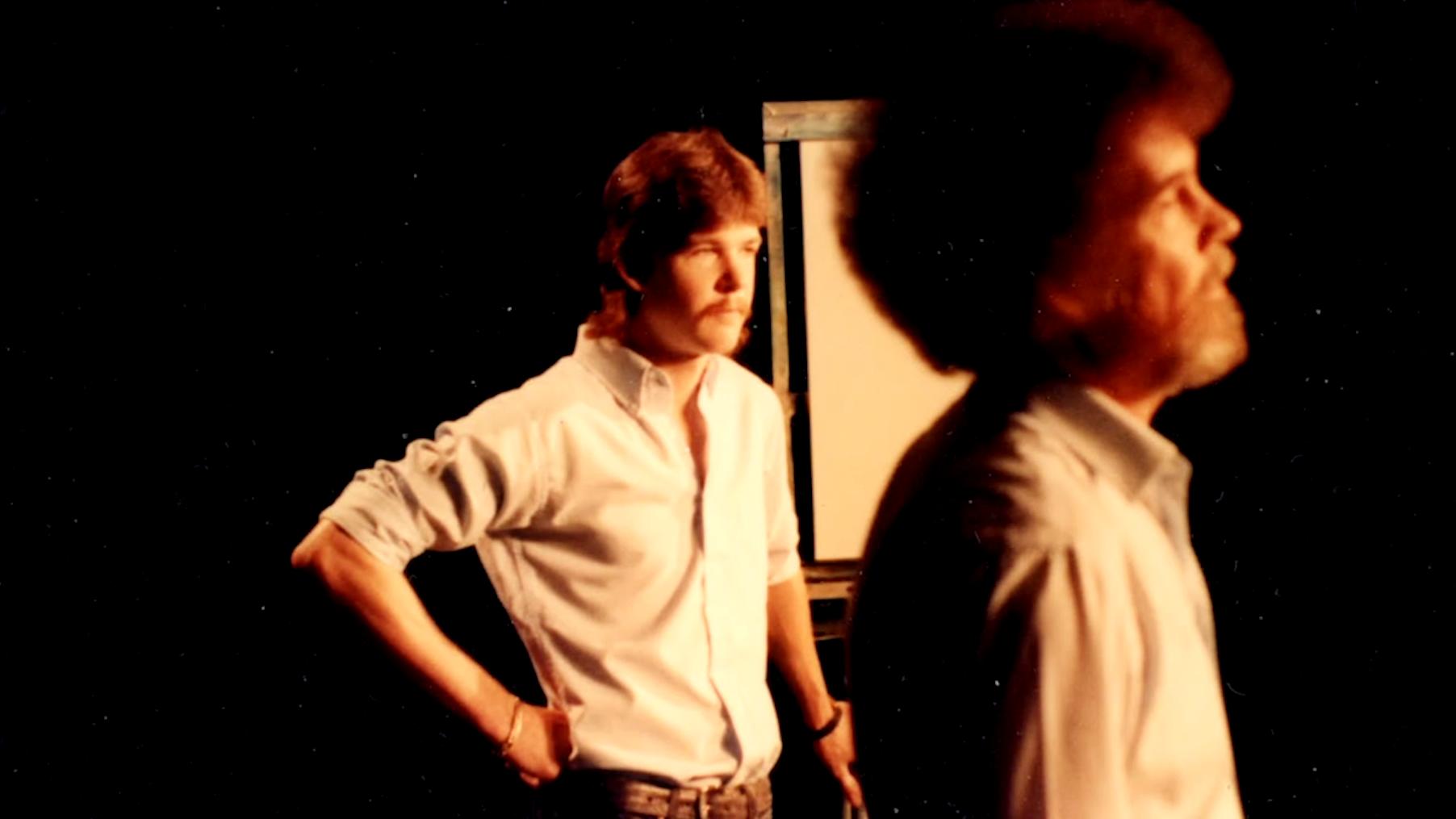 Bob Ross and son, Steve Ross