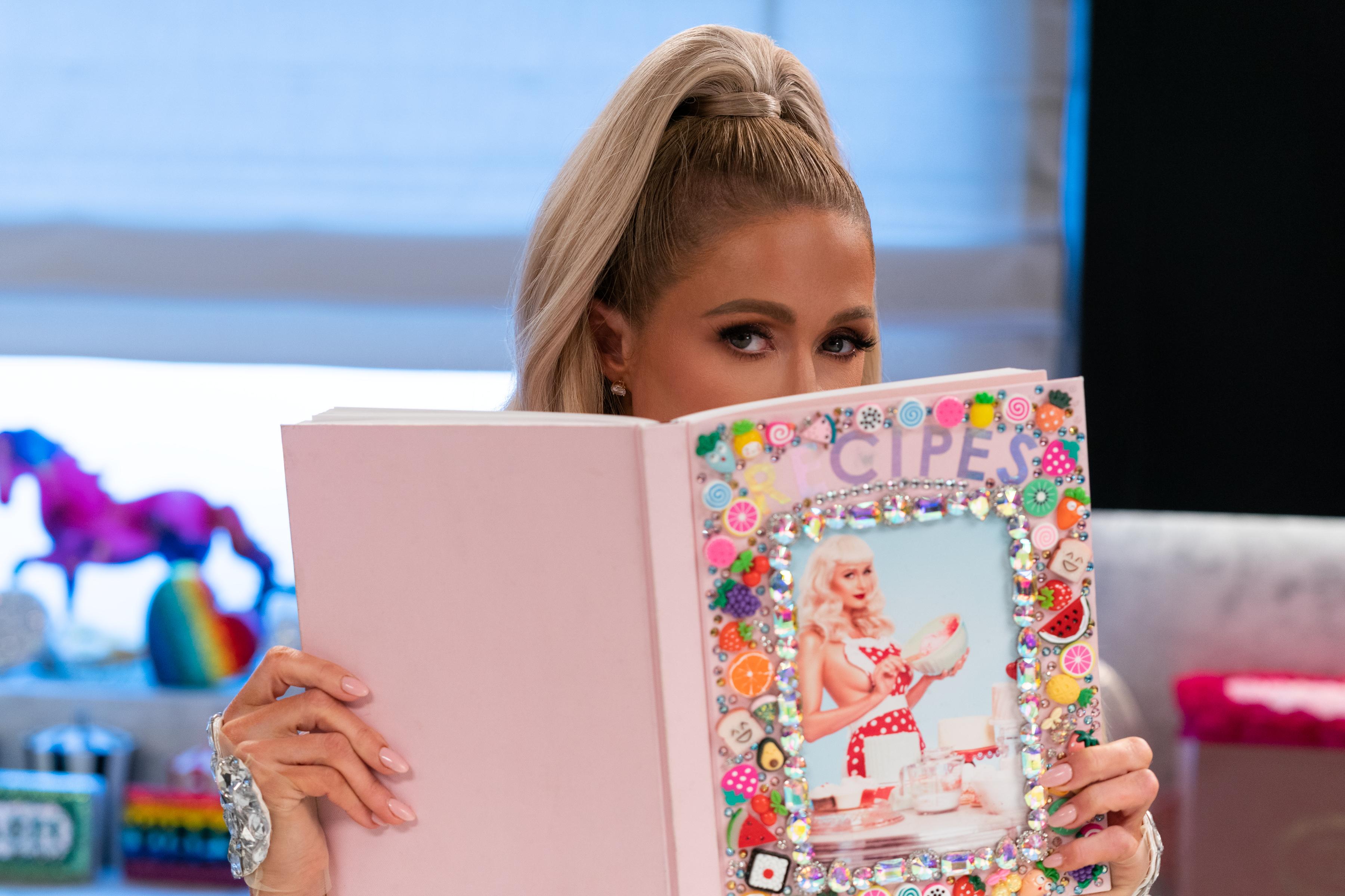 Paris Hilton in 'Cooking With Paris'