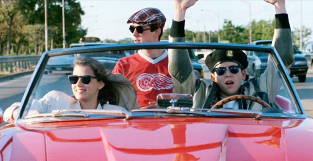 Mia Sara, Alan Ruck and Matthew Broderick 'Ferris Bueller's Day Off.'