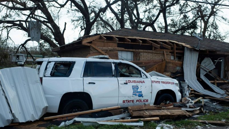 New Orleans Wary as Police Aim at Looting After Ida