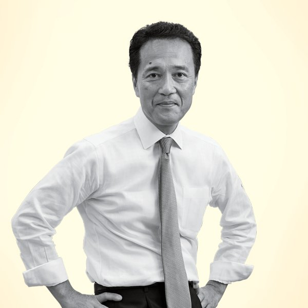 Kentaro Okuda is the chief executive at Nomura