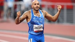 Lamont Marcell Jacobs Wins Olympic 100-m Sprint