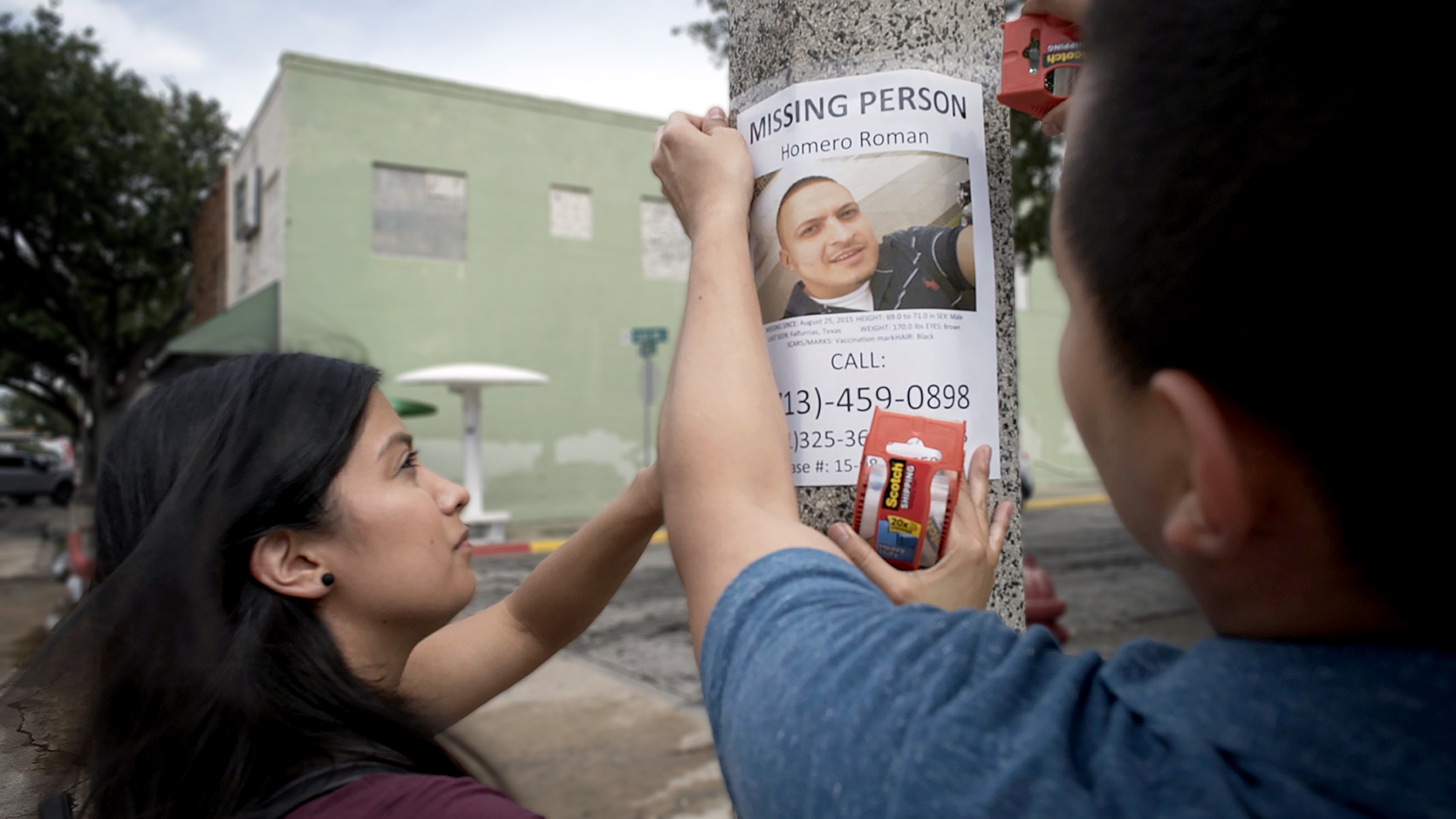 Homero Román Gómez has been missing since 2015. His family's search is documented in the new film Missing in Brooks County.