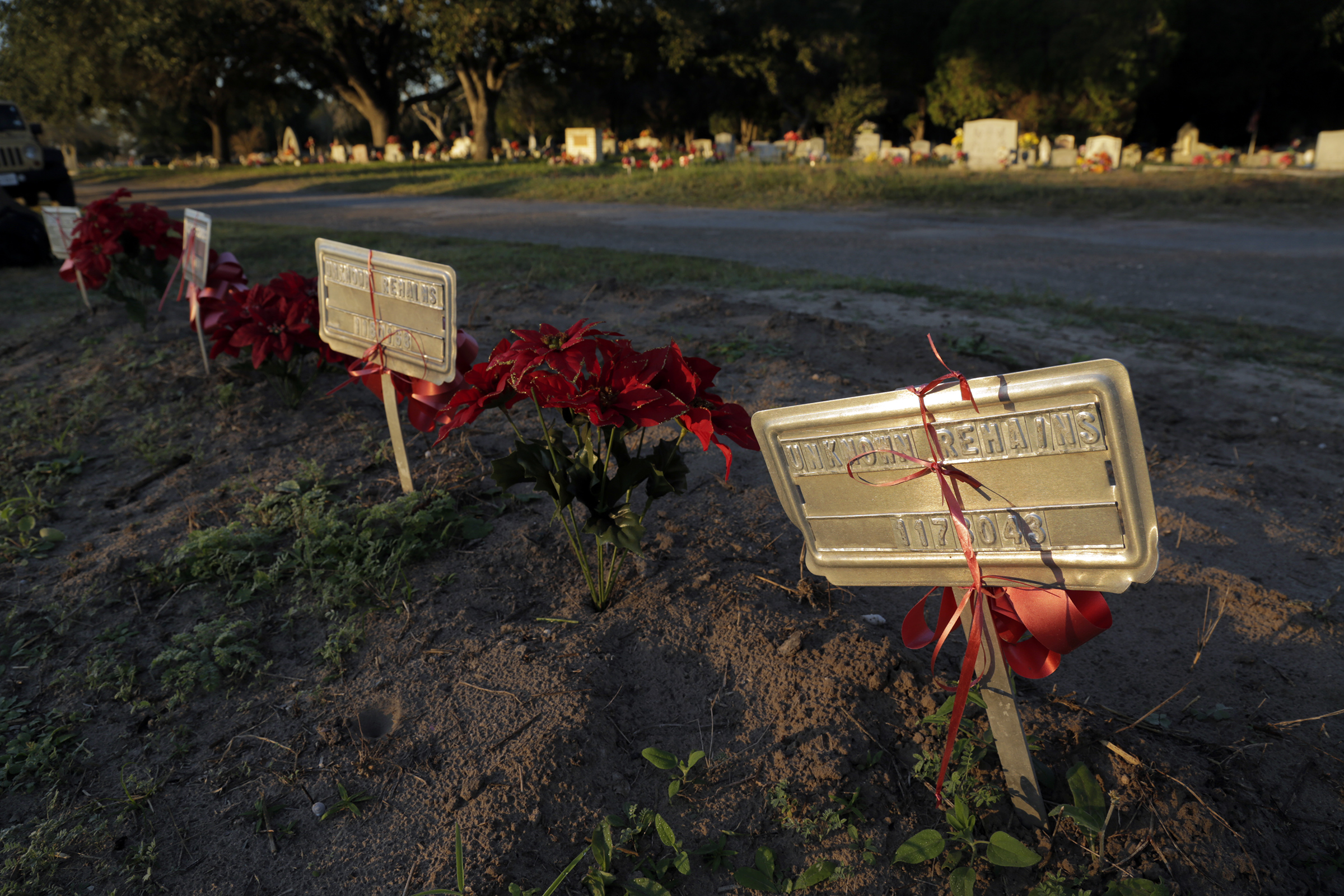 Graves for people who have not been identified in Brooks County, Texas is a subject of the new film Missing in Brooks County.