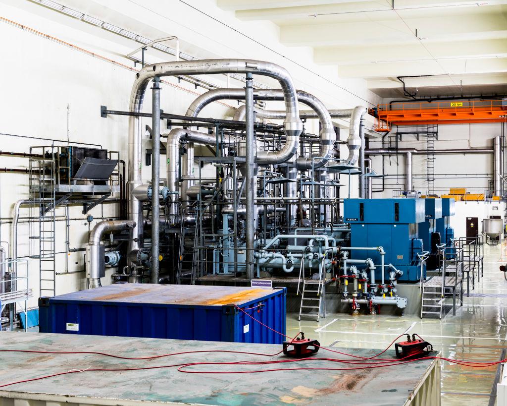 Barsebäck Nuclear Power Station, Barsebäck, Sweden.