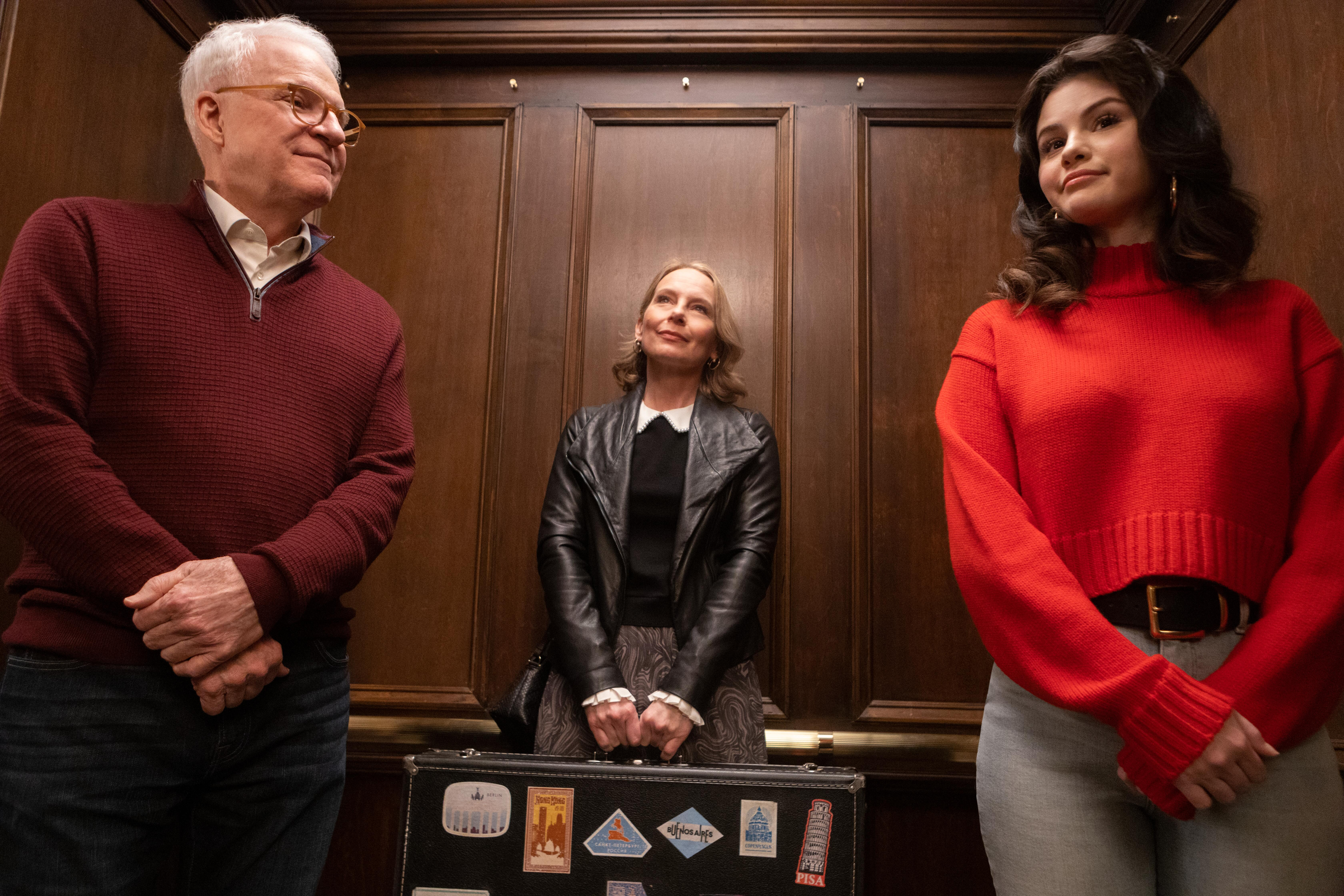 Steve Martin, Amy Ryan and Selena Gomez in 'Only Murders in the Building'