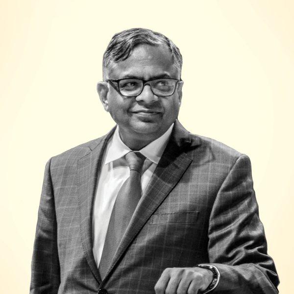 Natarajan Chandrasekaran is chairman of Tata Sons