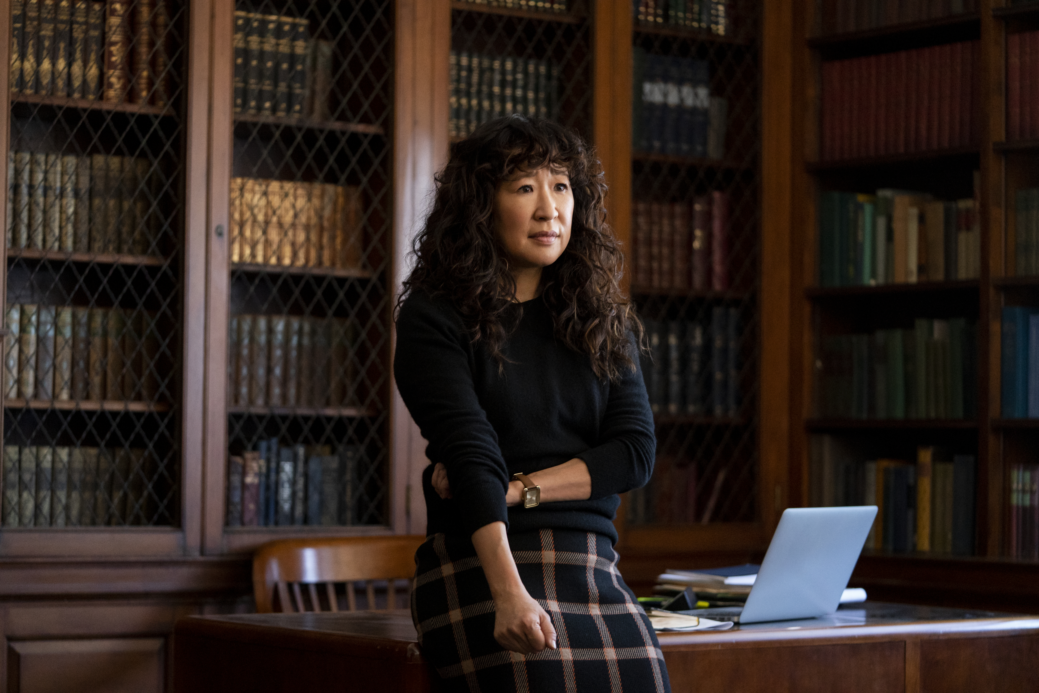 Sandra Oh in 'The Chair'