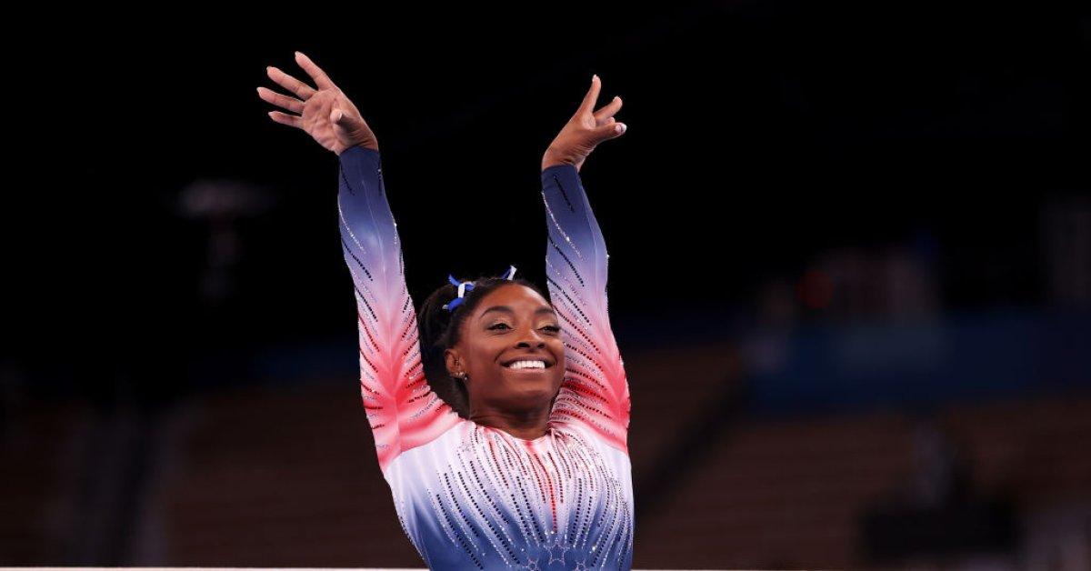 Simone Biles Wins Bronze in Balance Beam at Tokyo Olympics