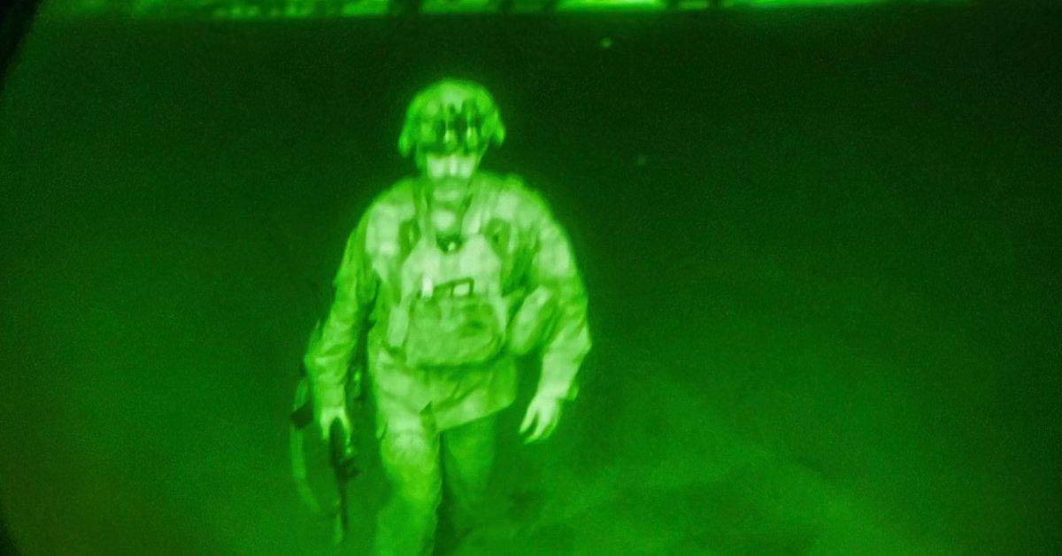 Last U.S. Troops Leave Afghanistan After 20 Years of War