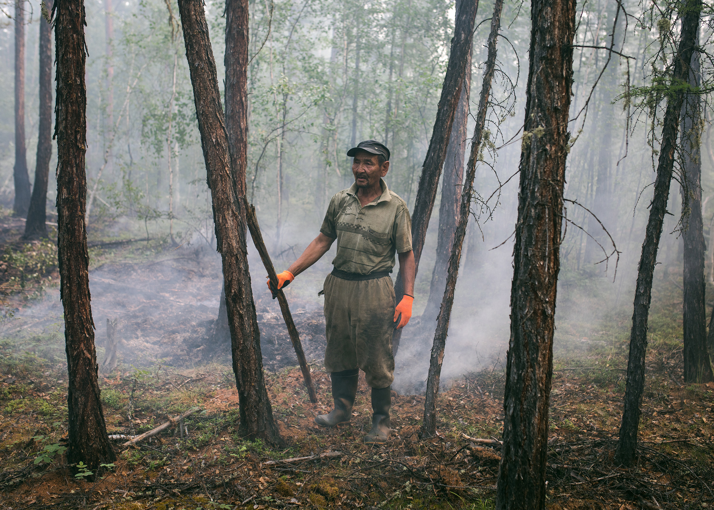Villagers in Siberia, Facing Wildfires and a Warming Climate, Battle to Protect Their Homes
