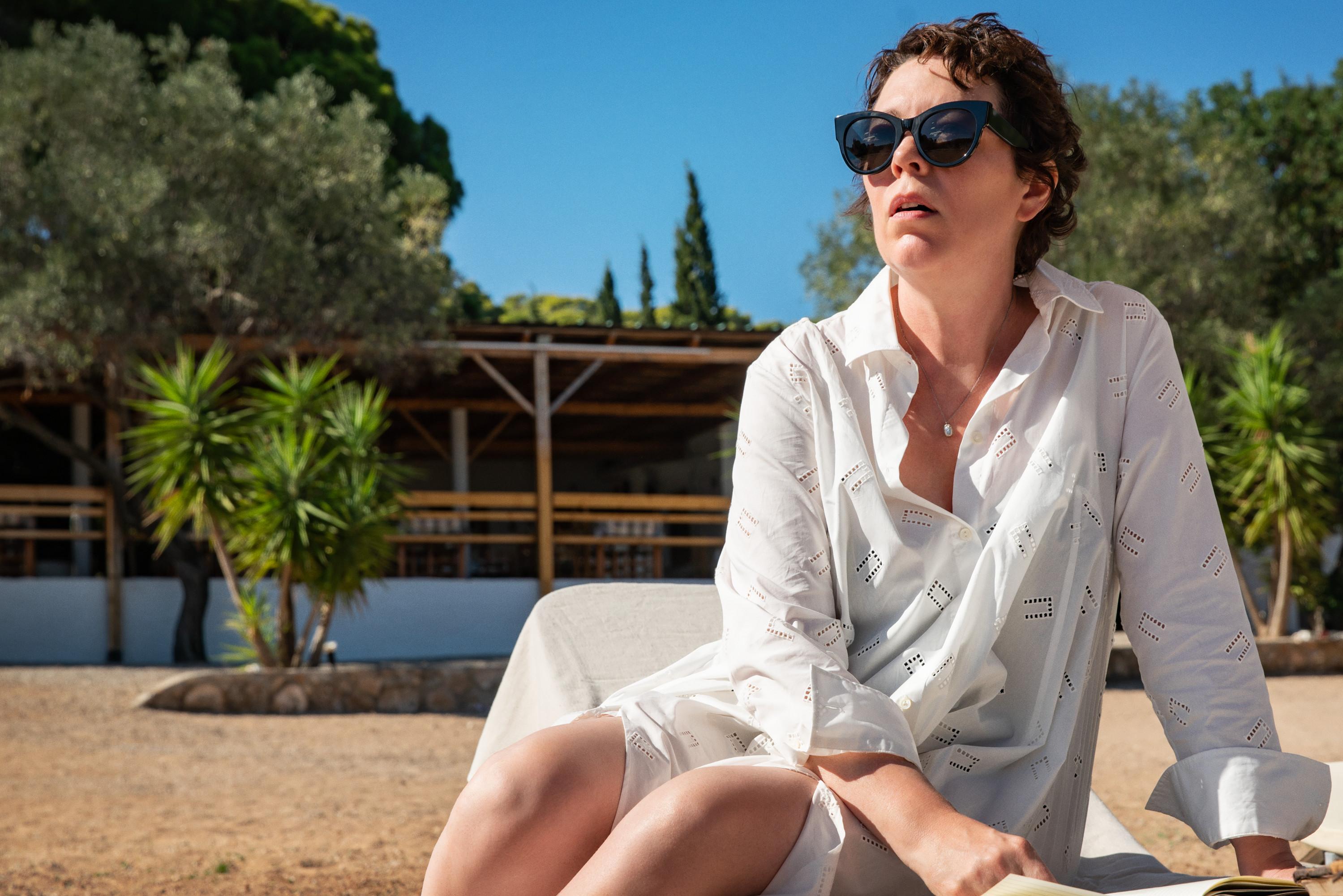 Olivia Colman as Leda in Maggie Gyllenhaal's 'The Lost Daughter'