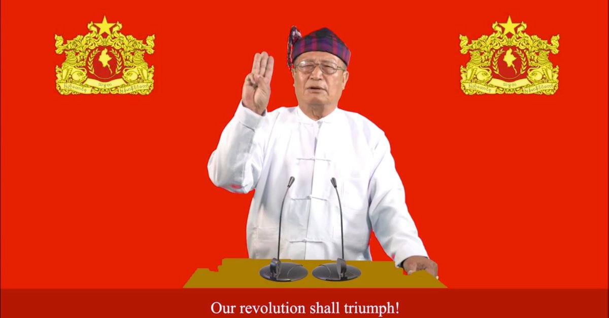 Myanmar's Shadow Government Calls for a Nationwide Uprising