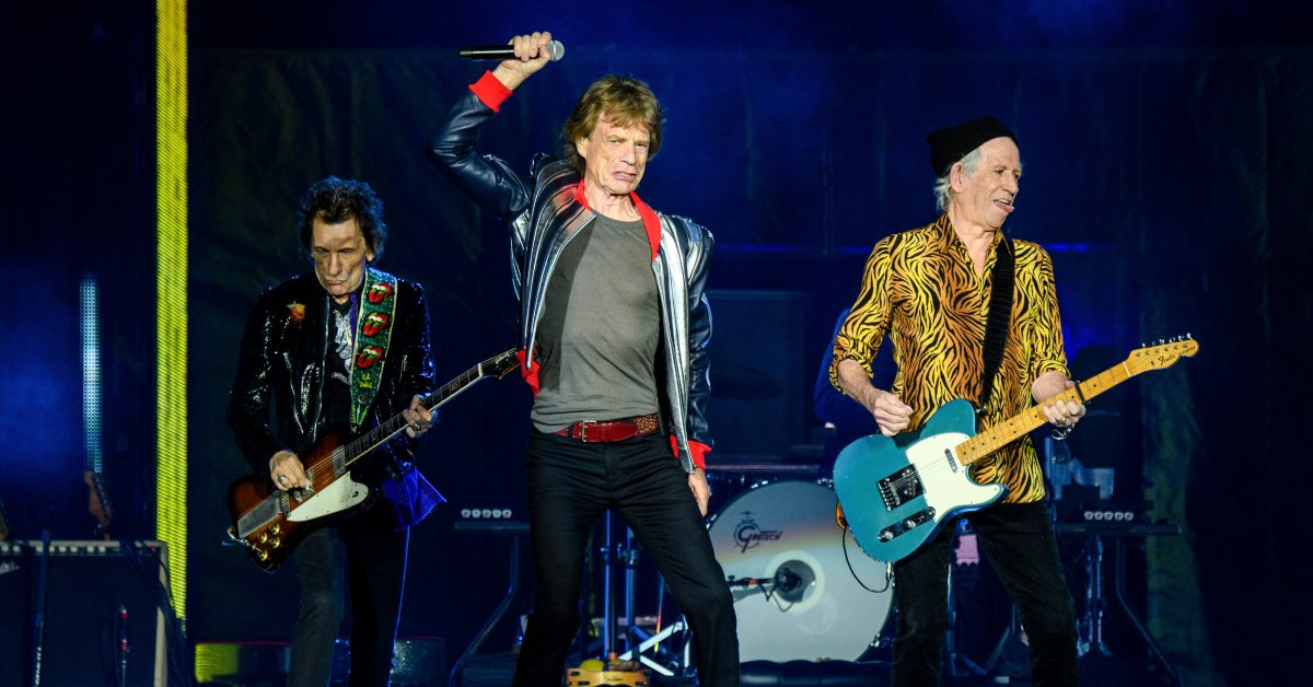 The Rolling Stones Open Their American Tour, Paying Tribute to Drummer Charlie Watts