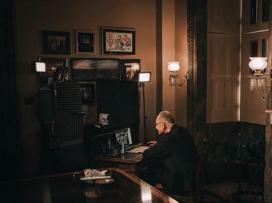The Great Kibitzer: How Chuck Schumer Got the Senate Moving Again