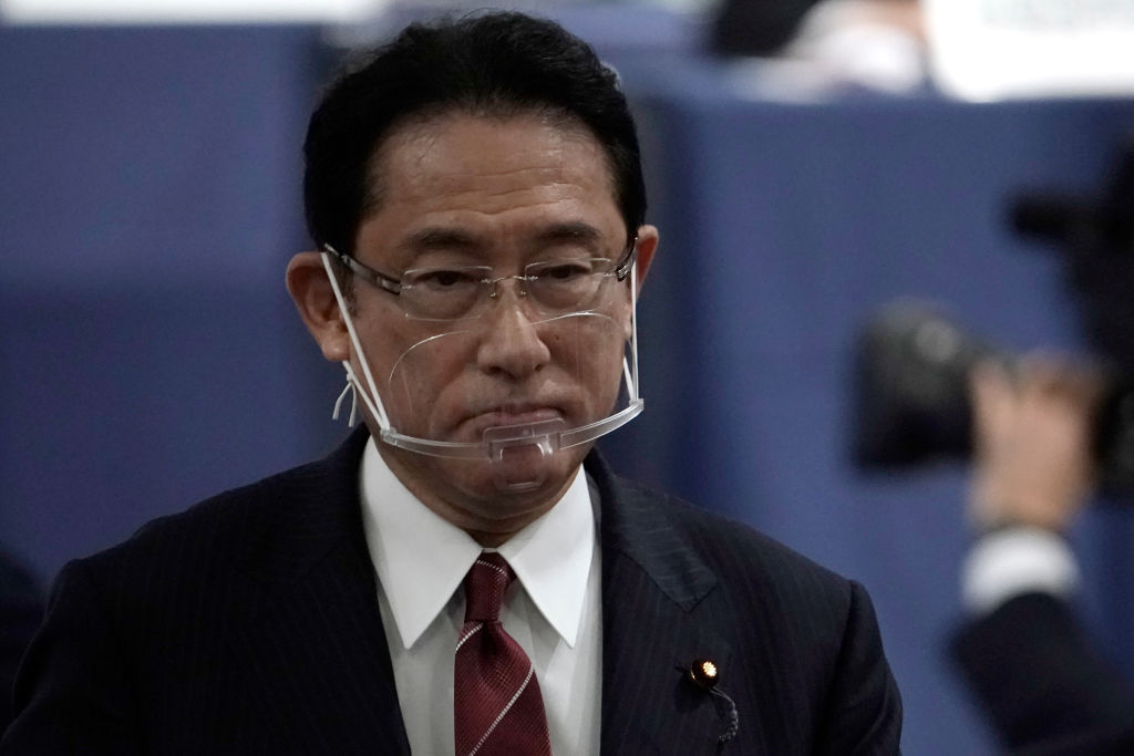 Fumio Kishida, a frontrunner to win the Liberal Democratic Party's (LDP) leadership election and become Japan's next prime minister, is pictured on Sept. 14, 2020 in Tokyo, Japan.