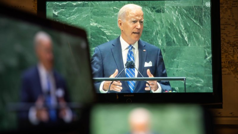How Biden's UN General Assembly Speech Lines Up with Reality