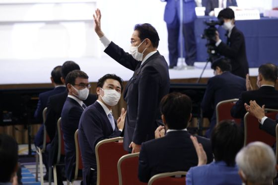 Japan's Ruling Liberal Democratic Party Elects Its New Leader