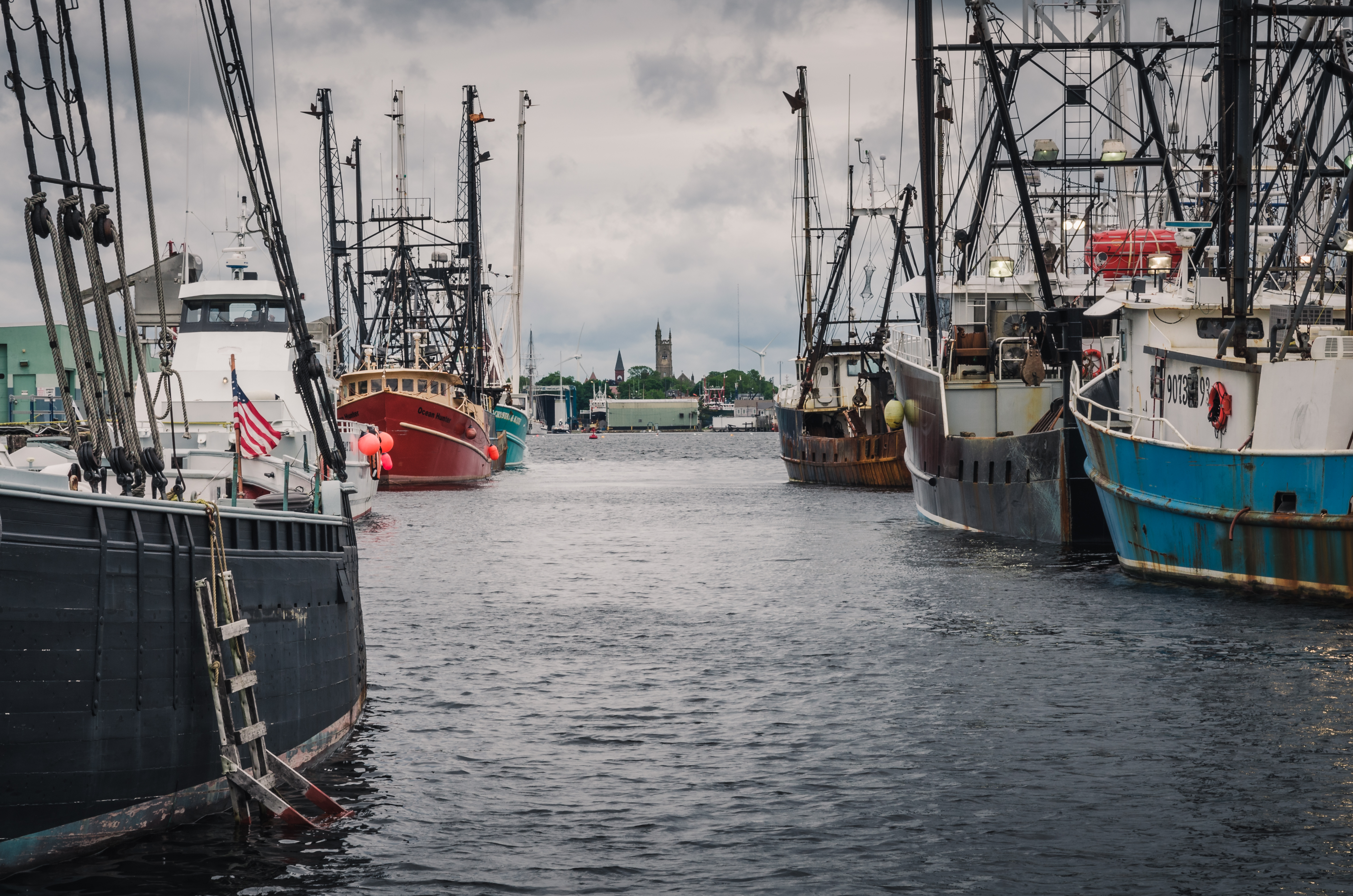 50 fishing businesses based in New Bedford, Mass. have signed onto a federal lawsuit over offshore wind construction