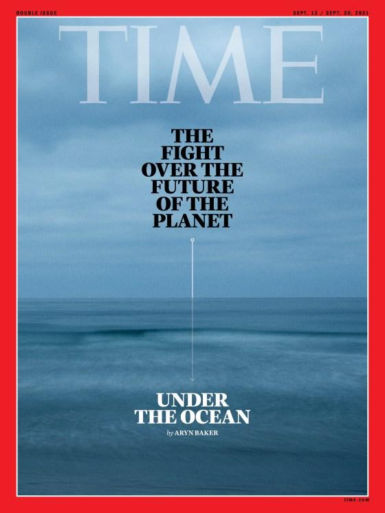 Deep Sea Mining Time Magazine Cover