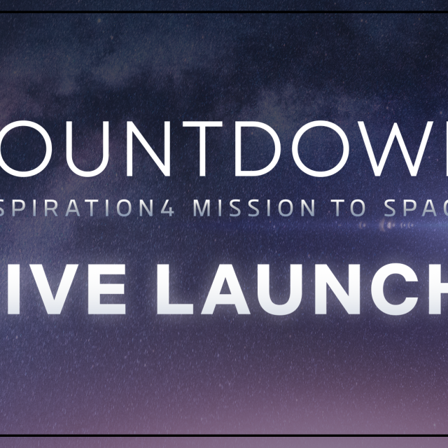 Watch Live as the Inspiration4 Crew Launches to Space