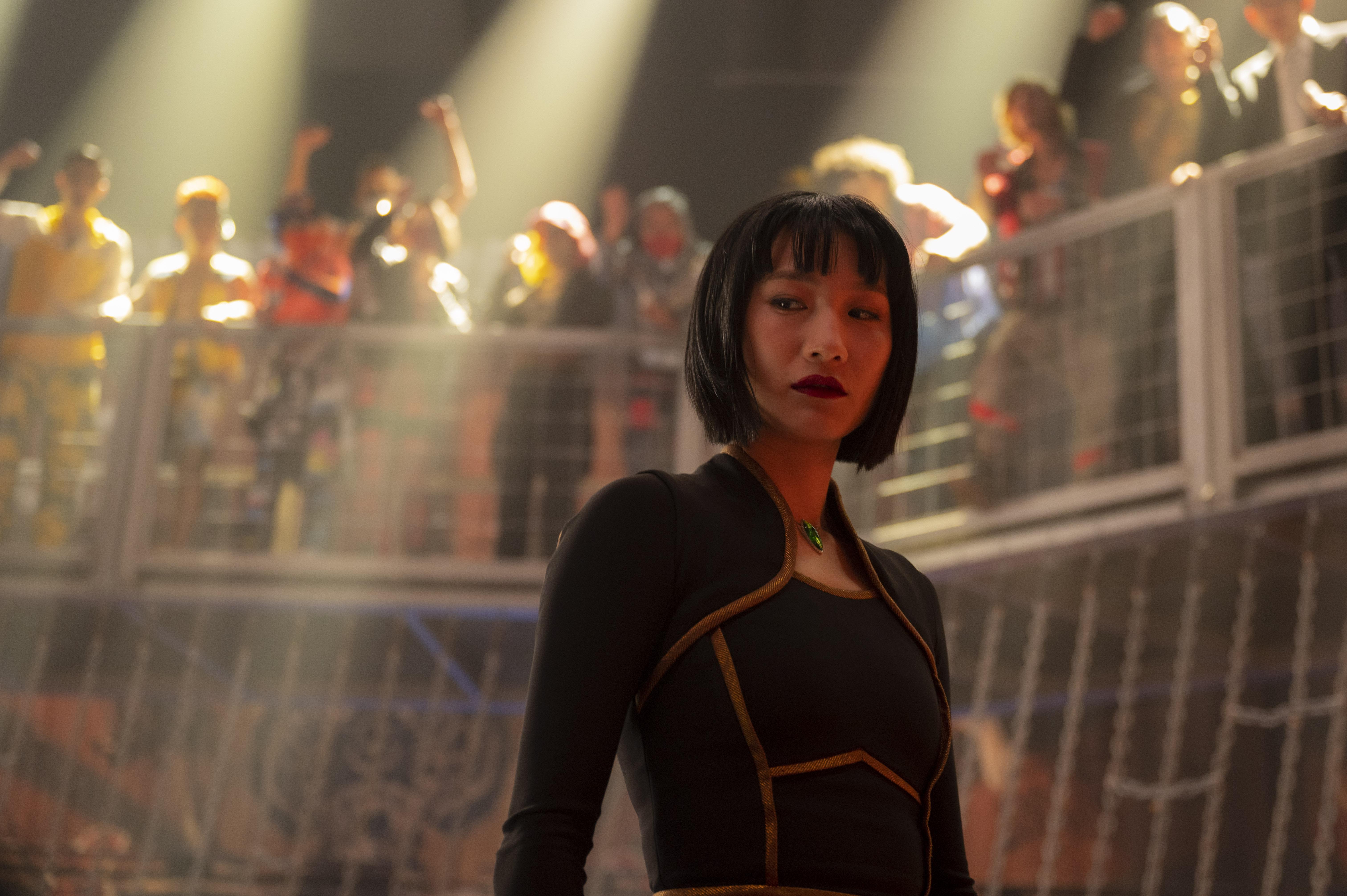 Meng'er Zhang as Xialing in Shang-Chi and the Legend of the Ten Rings.