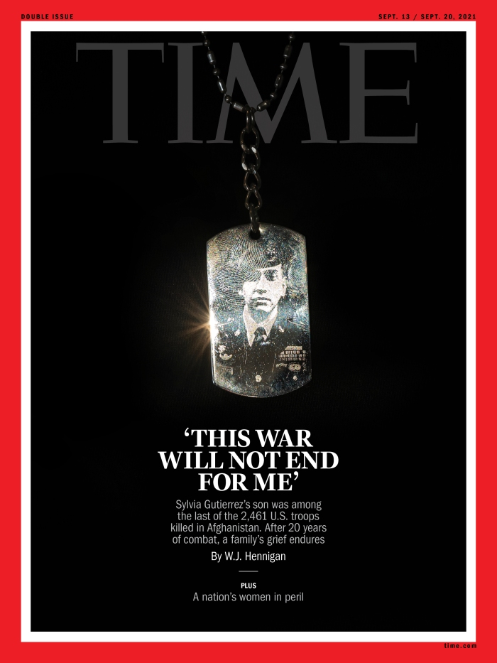 Afghanistan Time Magazine cover